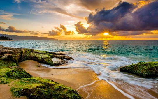 Earth & Beautiful Ocean